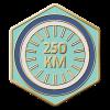 250km Ridden