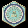 25km Ridden