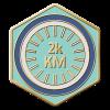 2000km Ridden