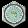 500km Ridden